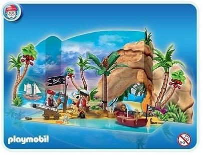 calendrier playmobil pirate