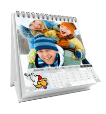 calendrier photo personnalise