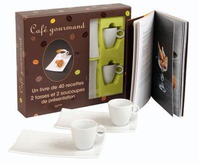 Coffret recettes café gourmand noel 2010